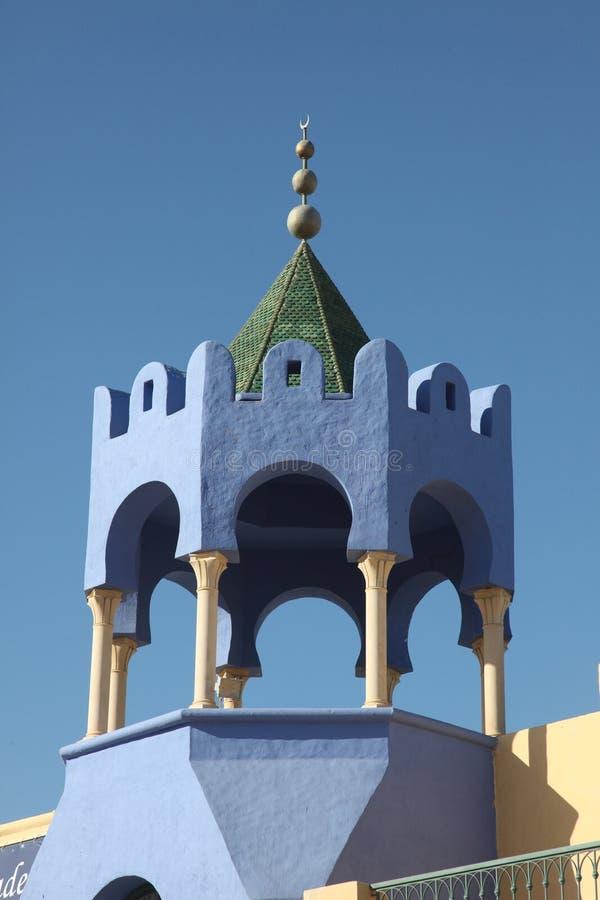 Telhado tradicional tunisino fotografia de stock