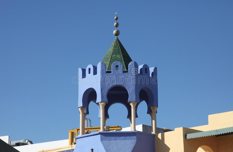 Telhado tradicional tunisino foto de stock royalty free