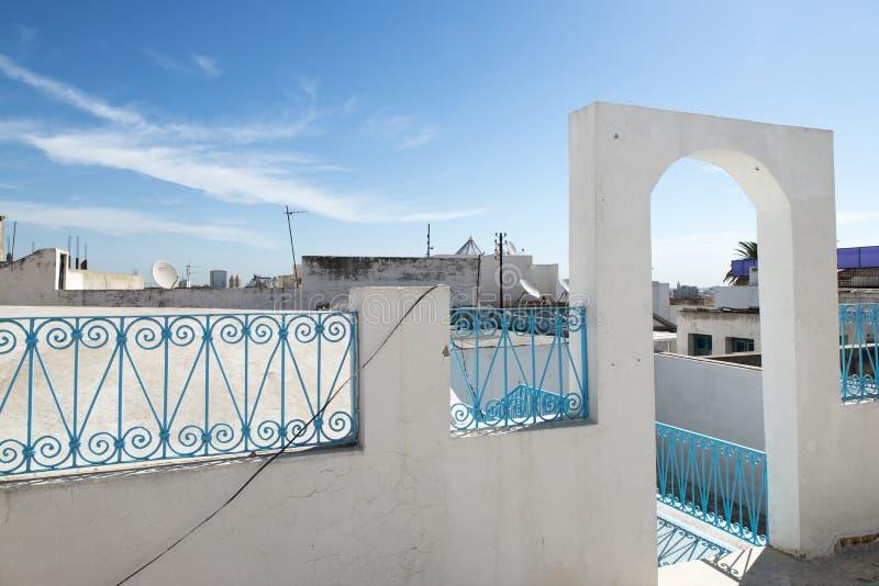 Telhados de Medina, Tunes fotos de stock