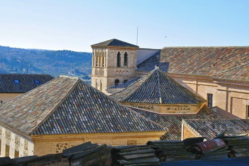 Telhados de Toledo imagem de stock royalty free