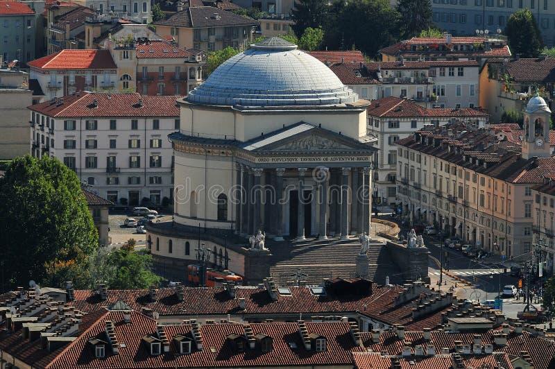 Telhados de Torino imagem de stock royalty free