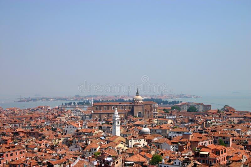 Telhados de Veneza fotografia de stock royalty free
