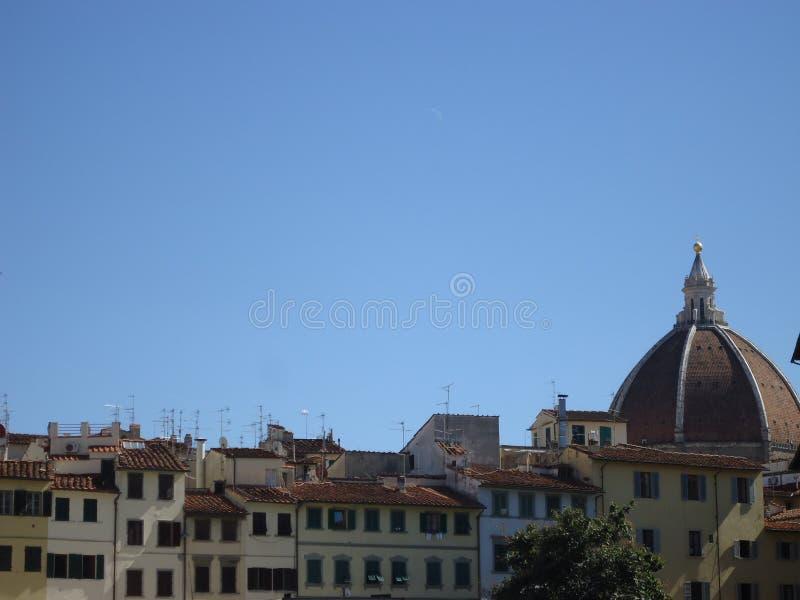 Telhados em Florença imagem de stock