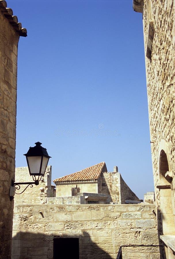Telhados no sul de France imagens de stock
