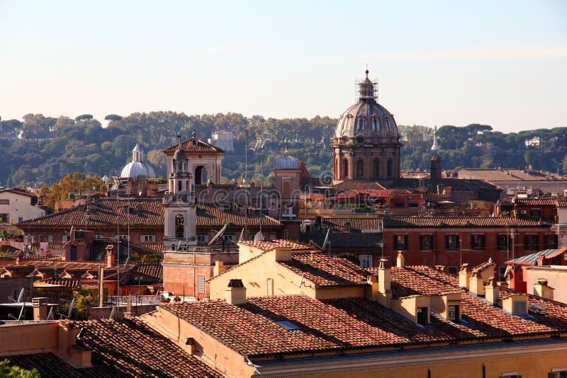 Telhados romanos imagem de stock royalty free
