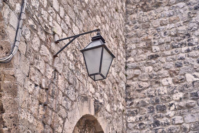 Telhados velhos da cidade de Dubrovnik do panorama Europa, Cro?cia fotografia de stock