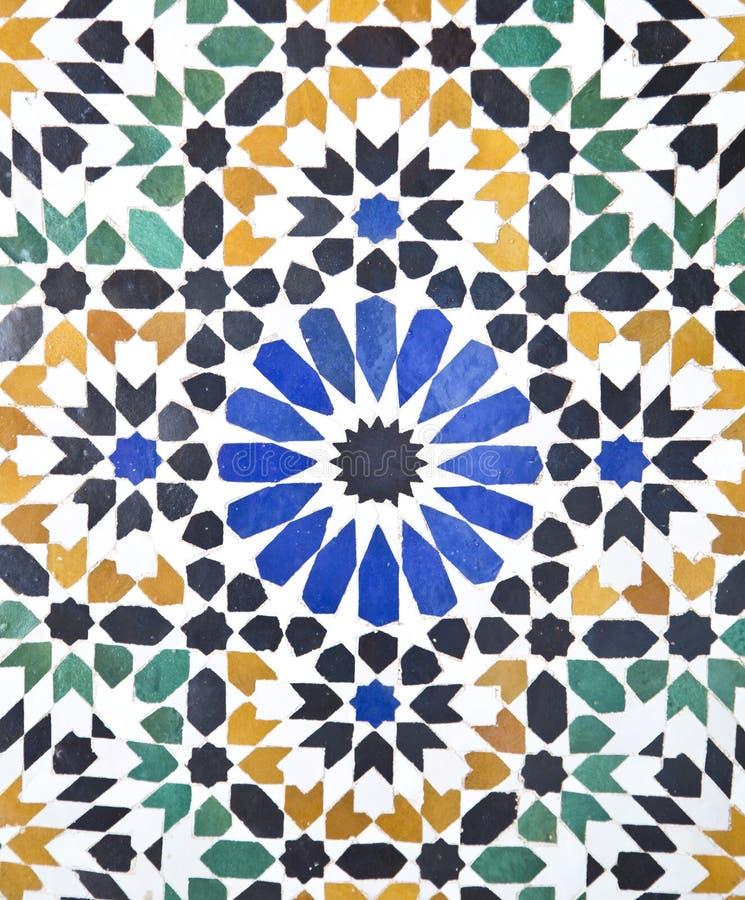 Telhas árabes imagem de stock