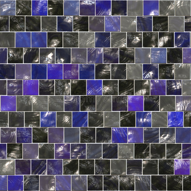 Telhas azuis imagem de stock royalty free