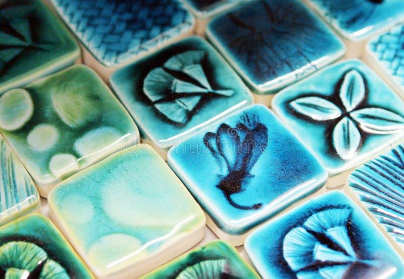Telhas cerâmicas imagens de stock