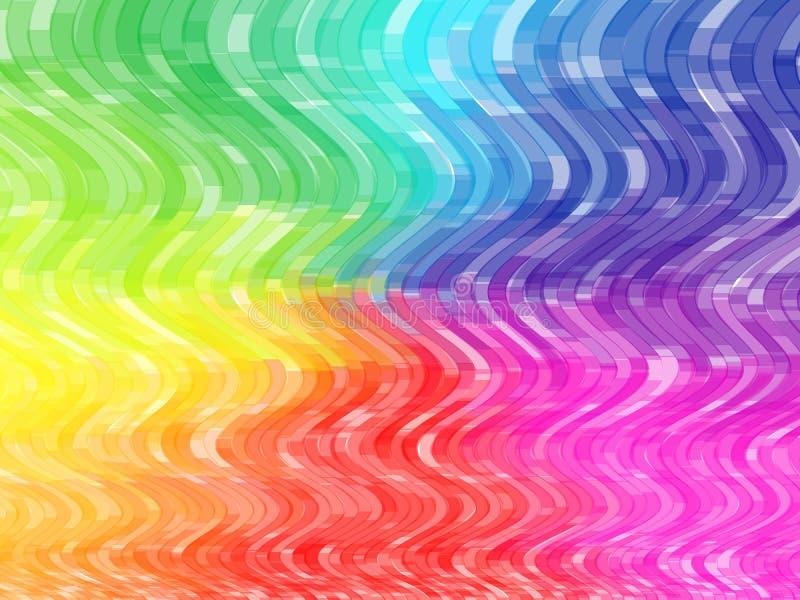 Telhas coloridas do vetor ilustração stock