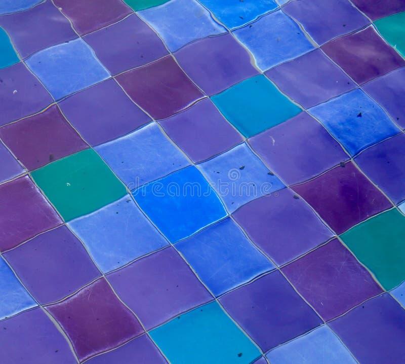 Telhas da cor imagens de stock