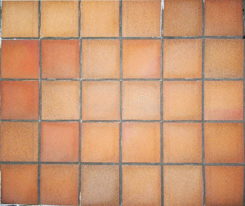 Telhas de assoalho do Terracotta fotografia de stock royalty free