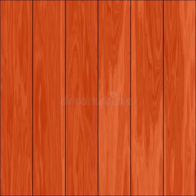 Telhas de madeira do parquet ilustração stock
