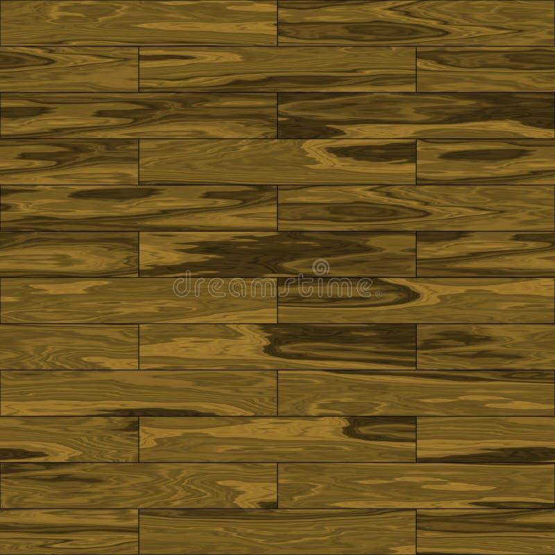 Telhas de madeira do parquet ilustração do vetor