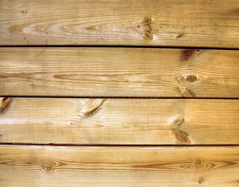 Telhas de madeira lightbrown do fundo foto de stock royalty free