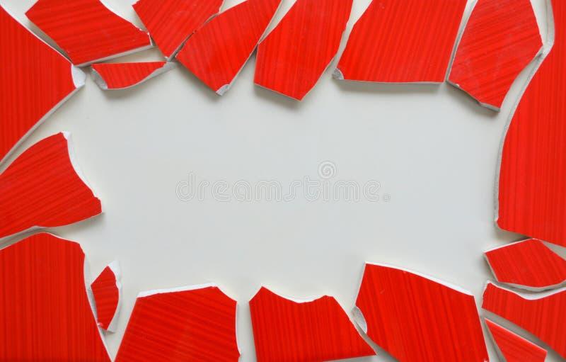Telhas de mosaico com bastão foto de stock royalty free