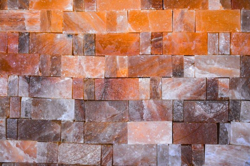Telhas de sal de rocha imagens de stock