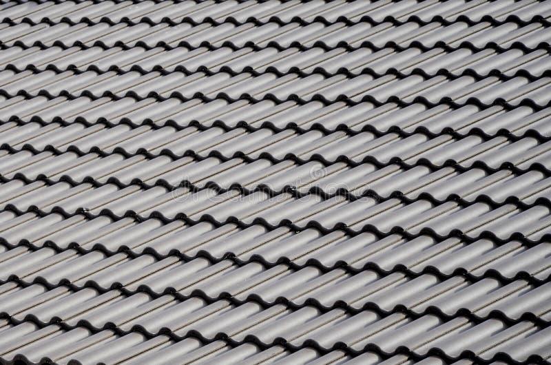 Telhas de telhado imagem de stock