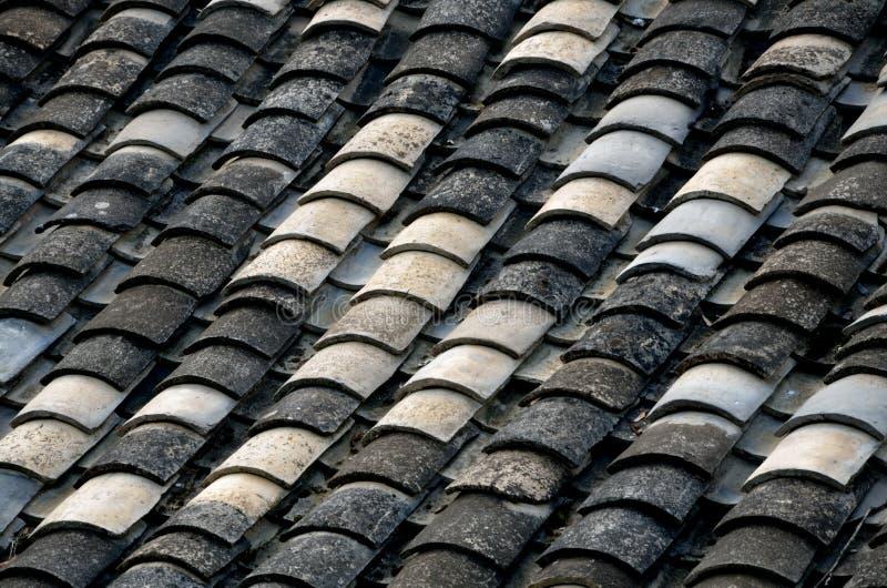 Telhas de telhado do estilo chinês imagem de stock royalty free
