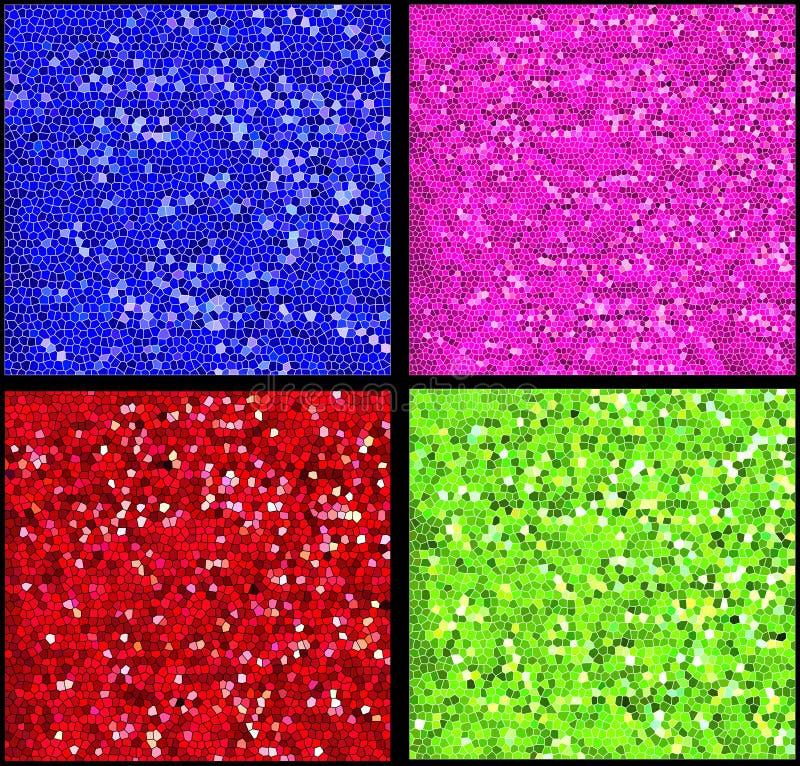Telhas do mosaico ilustração stock