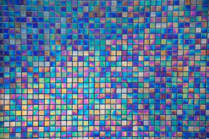 Telhas do mosaico para o fundo imagem de stock