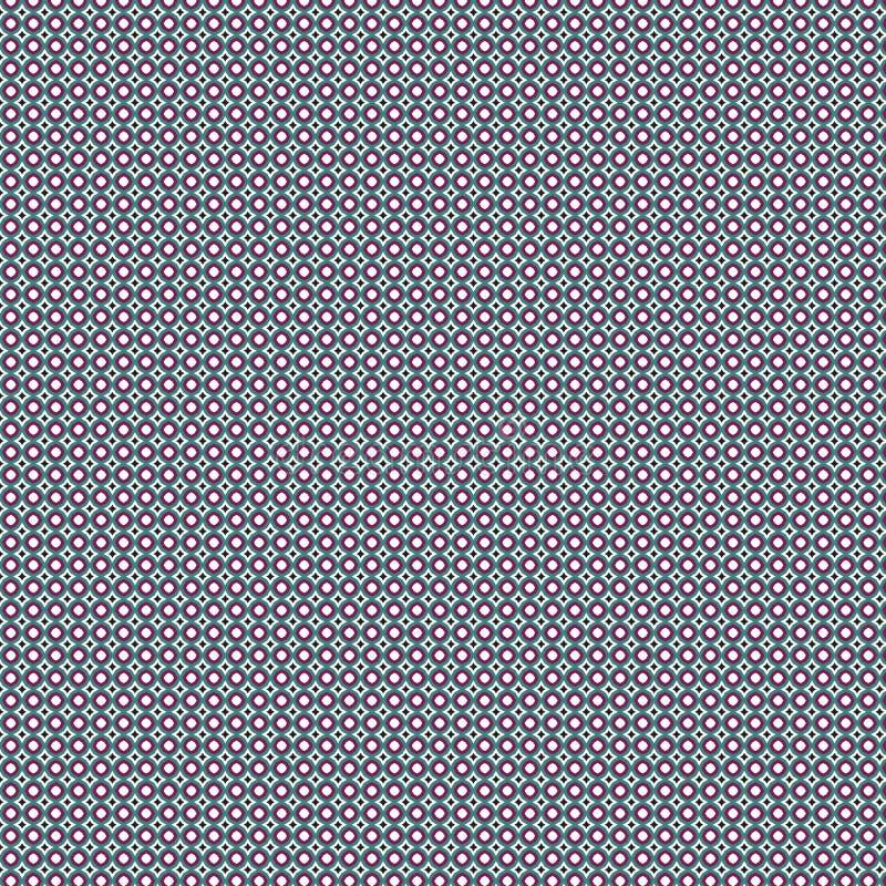 Telhas modernas abstratas Dots Pattern Background ilustração do vetor