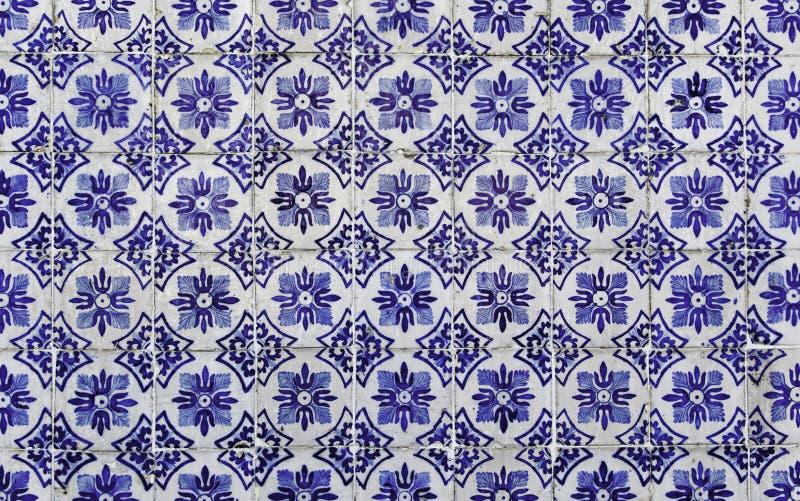 Telhas portuguesas antigas imagem de stock