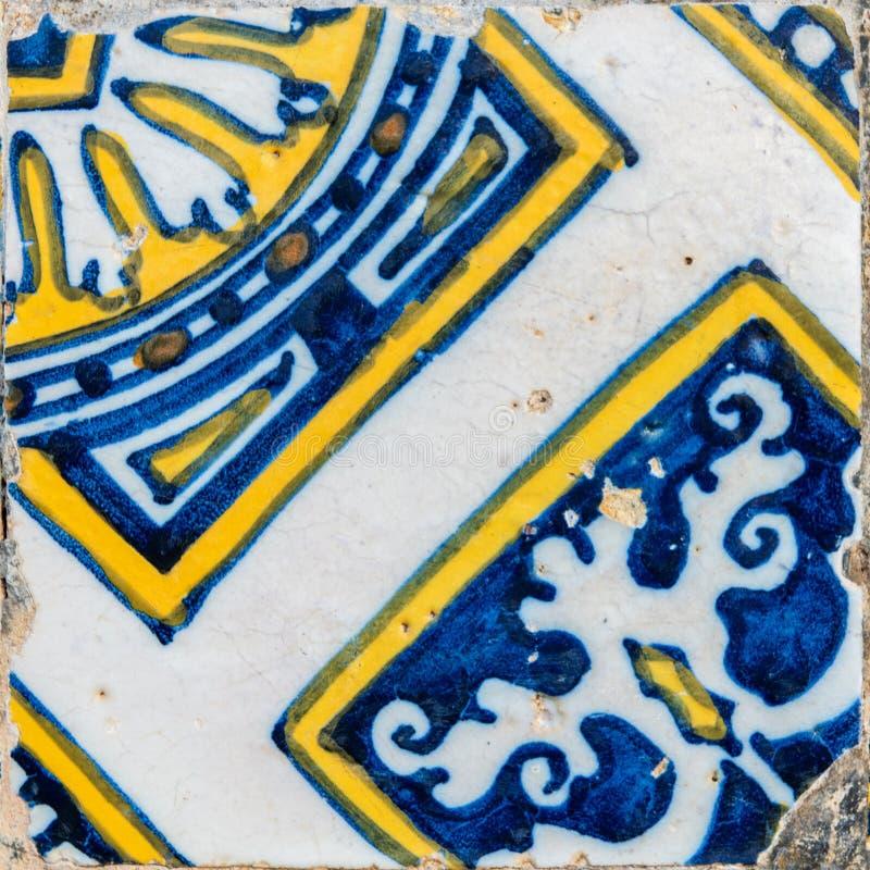 Telhas portuguesas tradicionais imagem de stock royalty free