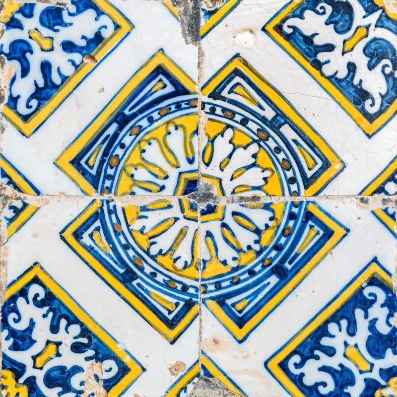 Telhas portuguesas tradicionais imagens de stock royalty free