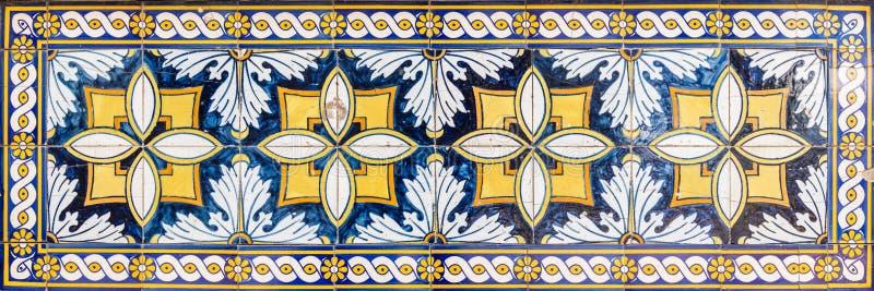 Telhas portuguesas tradicionais fotografia de stock royalty free