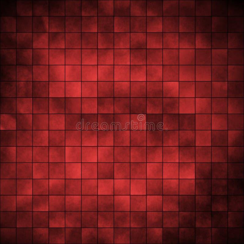 Telhas - vermelho imagem de stock