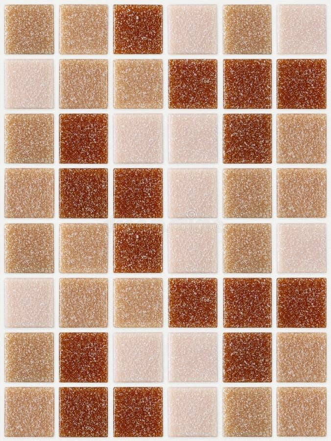 Telhe o quadrado do mosaico decorado com fundo cor-de-rosa vermelho da textura do brilho fotos de stock royalty free
