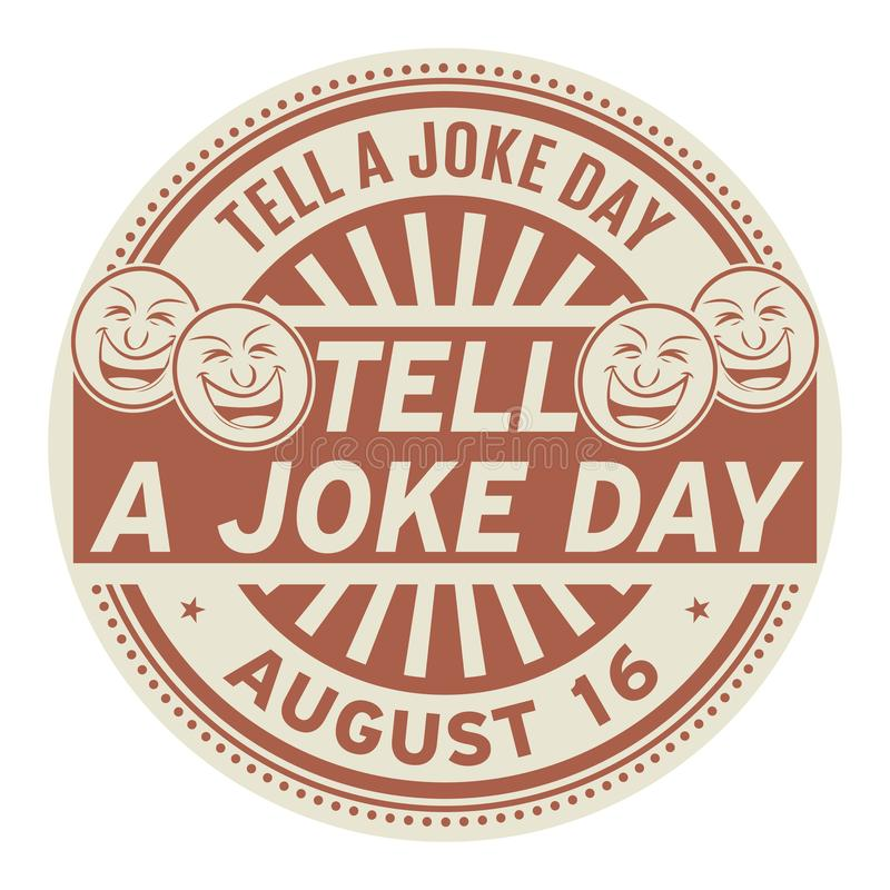 Free Tell A Joke Day, August 16 Stock Photos - 122776013