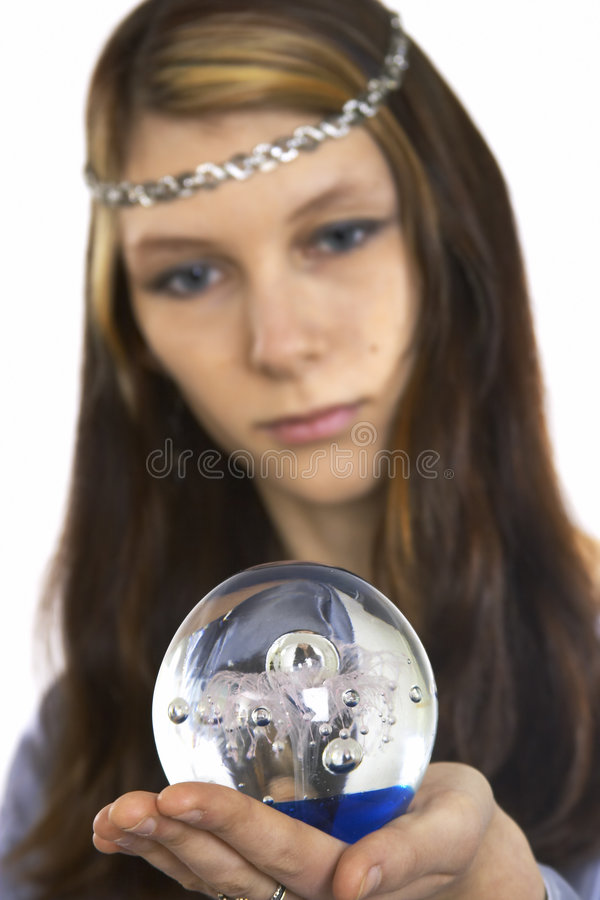 Tell fortunes royalty free stock image