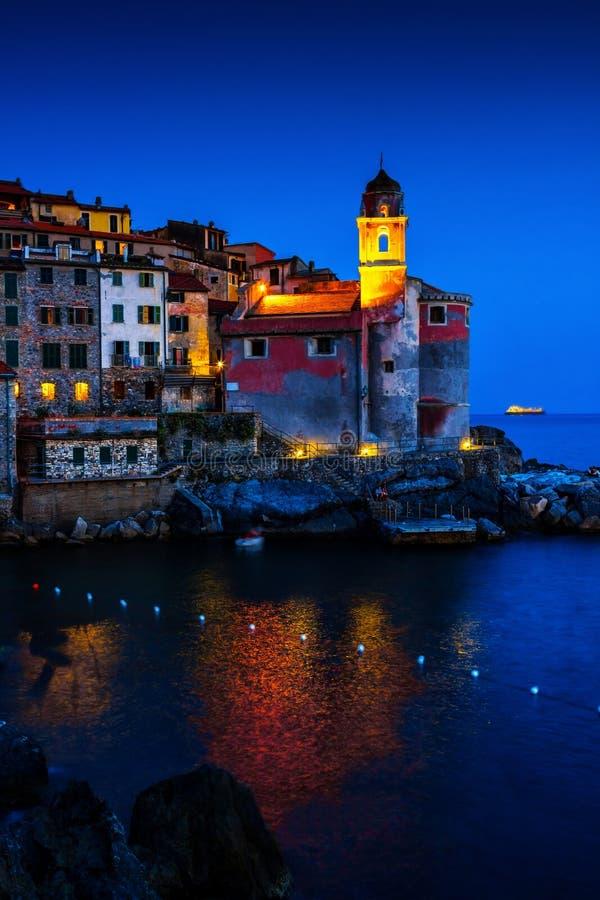 Tellaro, Λιγυρία, Ιταλία στοκ εικόνα
