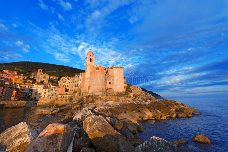 Tellaro - Λιγυρία - Ιταλία στοκ φωτογραφία με δικαίωμα ελεύθερης χρήσης