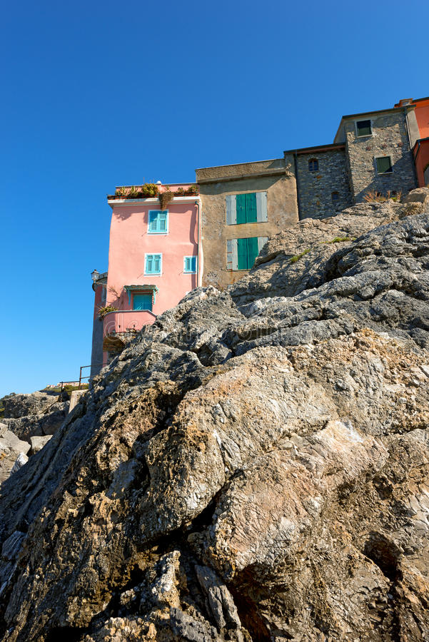 tellaro της Ιταλίας Λιγυρία στοκ φωτογραφία