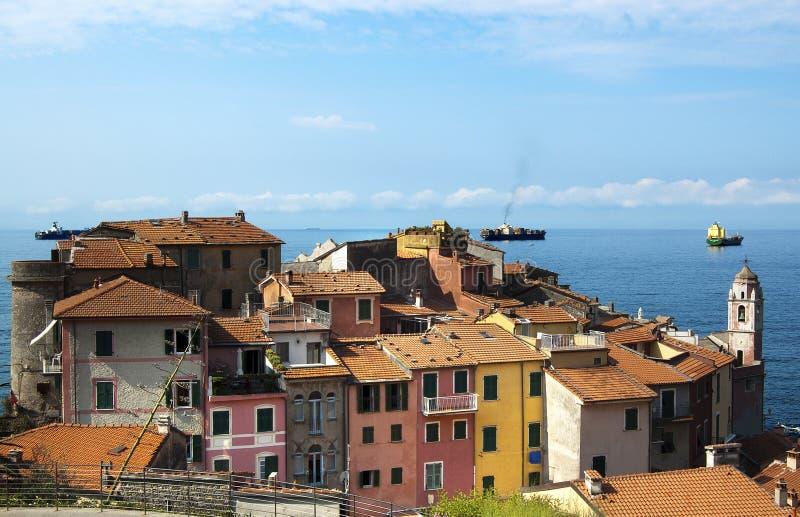 Tellaro - la Ligurie - l'Italie photo libre de droits