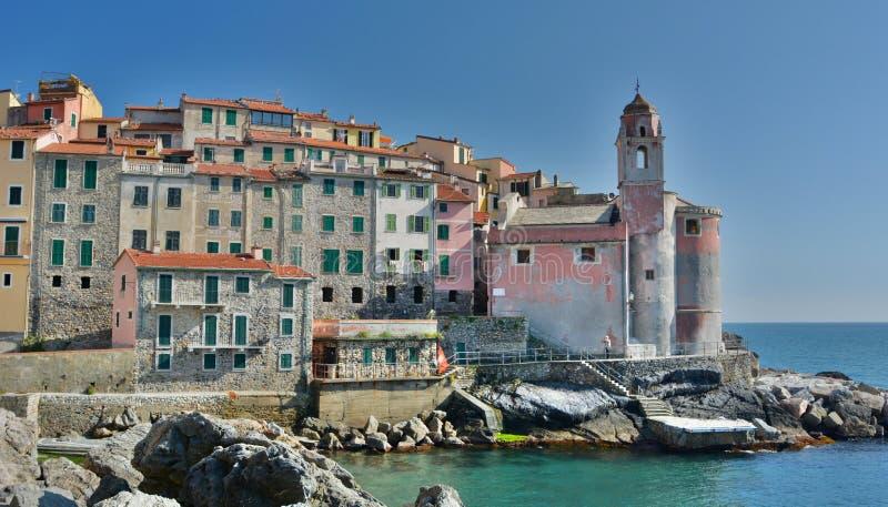 Tellaro Lerici Λιγυρία Ιταλία στοκ εικόνες
