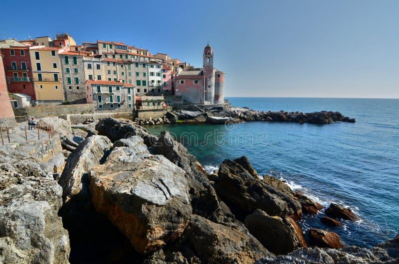 Tellaro Lerici Liguria Italia foto de archivo