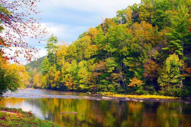 Tellico rzeka zdjęcia stock