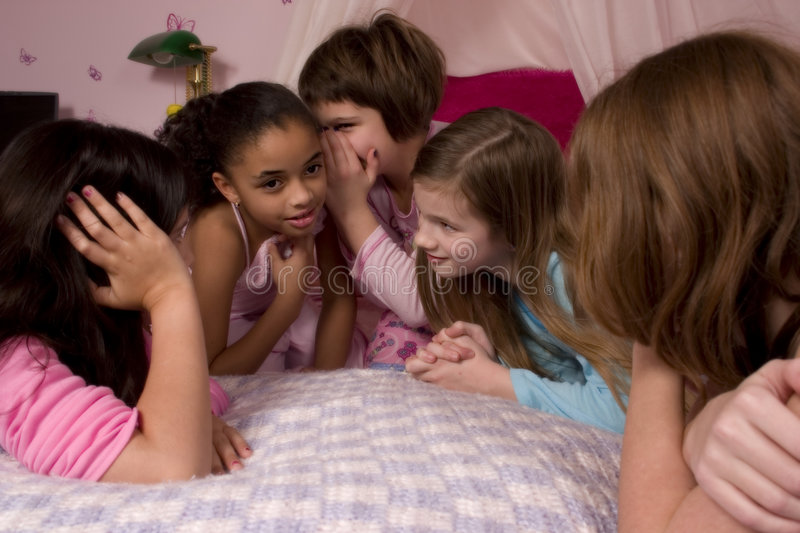 Download Telling Secrets stock photo. Image of home, children, diversity - 1639406