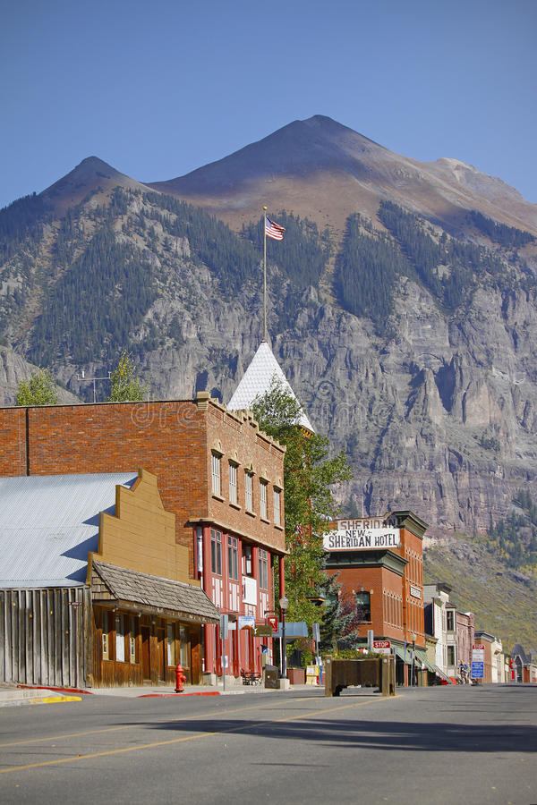 Telluride Colorado royalty free stock photos