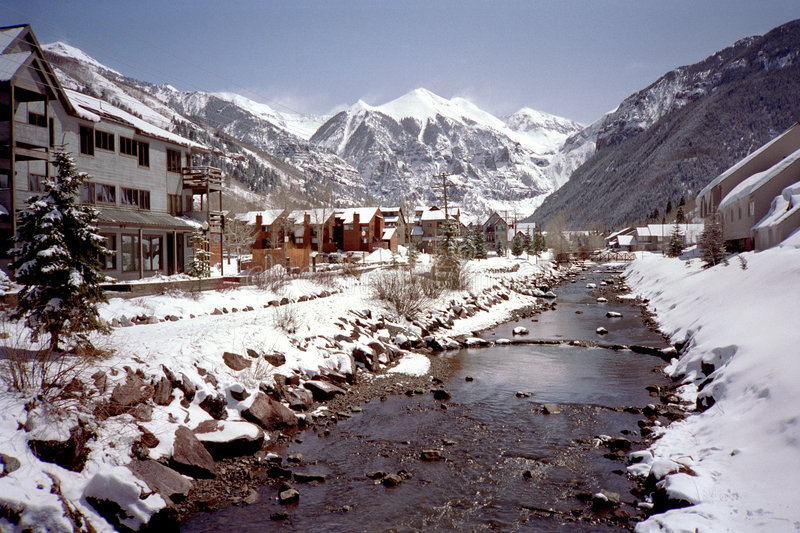 Telluride Colorado stock photos