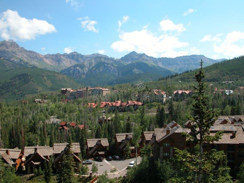 Tellurure, le Colorado images stock