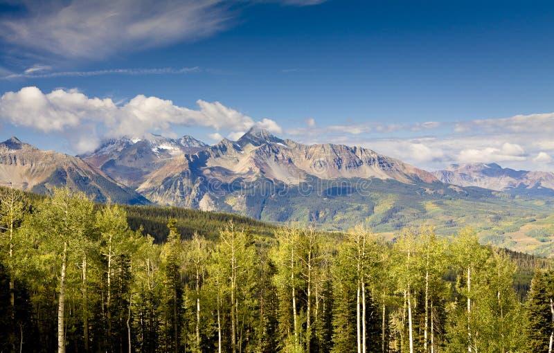 Tellururo, Colorado fotografia stock libera da diritti