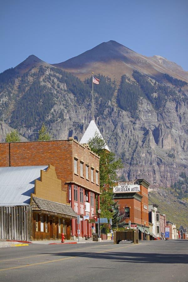 Tellururo Colorado fotografie stock libere da diritti