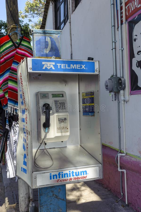 Telmex public phone royalty free stock images