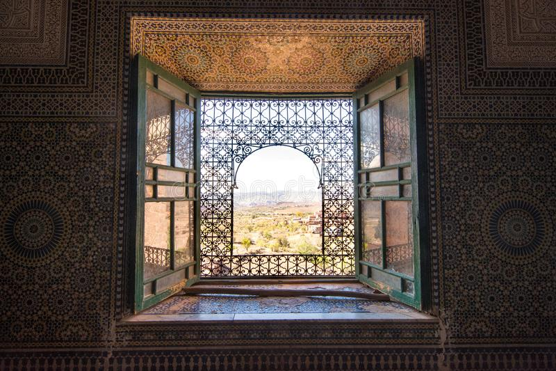 Telouet Kasbah, Marocco immagini stock libere da diritti