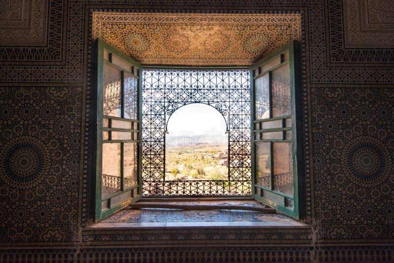 Telouet Kasbah, Marocko royaltyfria bilder